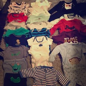 New born and 0-3 months boy clothes